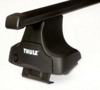 Багажник Thule с прямоугольными дугами на гладкую...